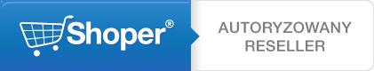 Przedsiębiorstwo Handlowo-Usługowe Jaf-NET Rafał Piszczek jest Autoryzowanym Resellerem Shoper®
