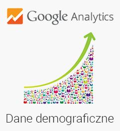 Google Analytics dane demograficzne