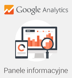 Panele informacyjne Google Analytics