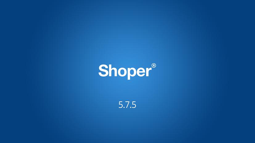 shoper 5.7.5.