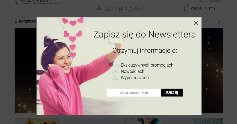 Selfieroom_newsletter