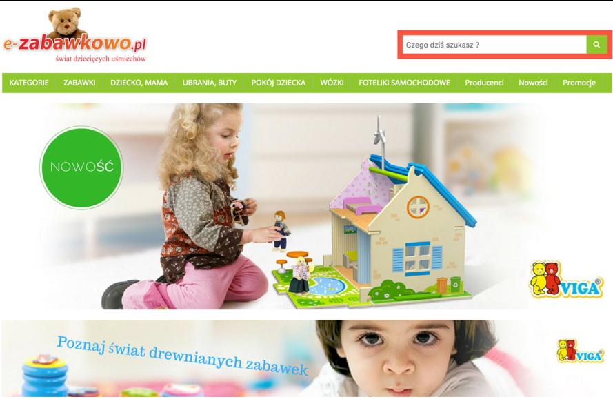 Sklep internetowy dziecko zabawki