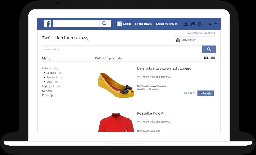 Sklep Facebook Shoper
