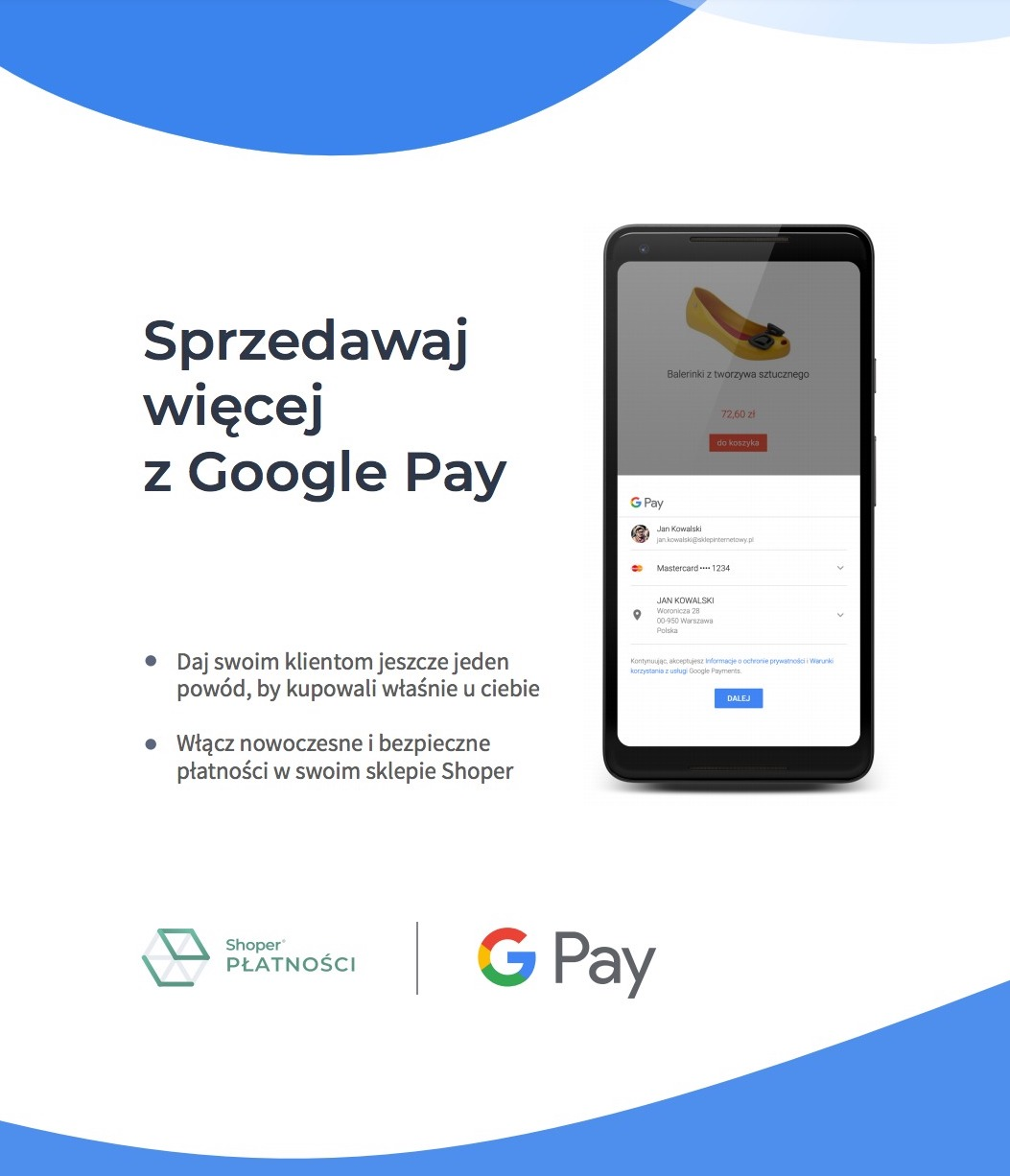 Shoper Google Pay