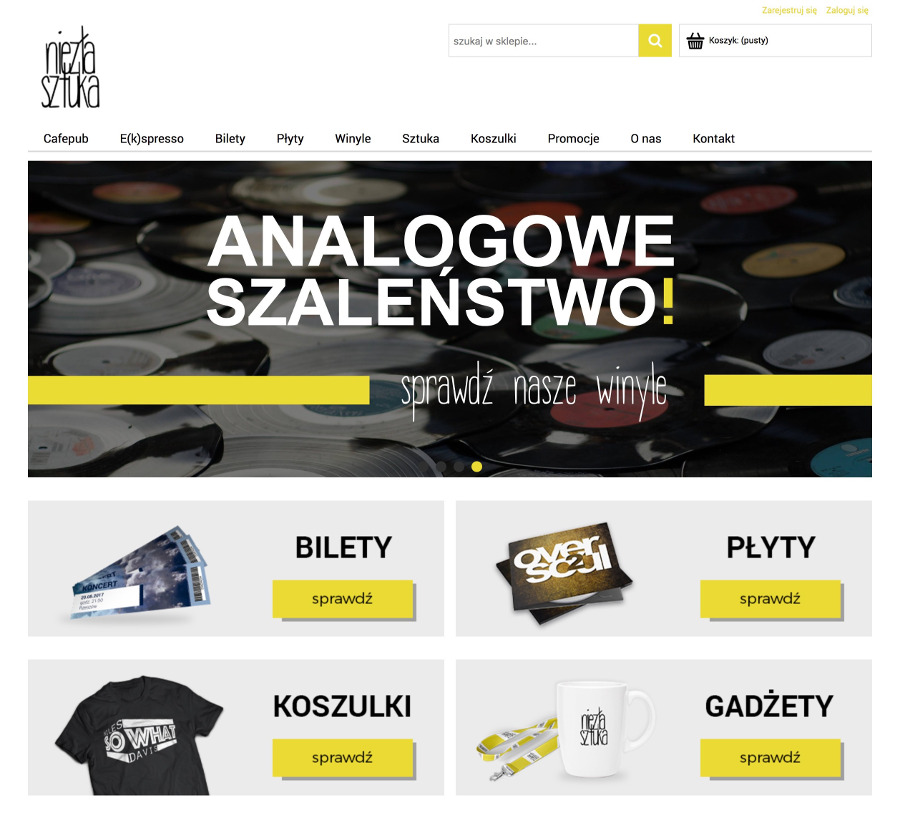 Sklep internetowy Shoper